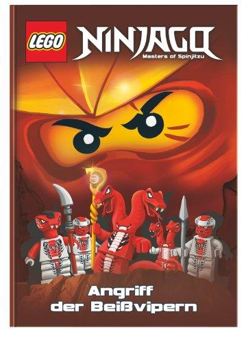LEGO Ninjago: Doppelband 1 - Angriff.../Unter den...: Angriff der Beißvipern + Unter den Hypnokobras