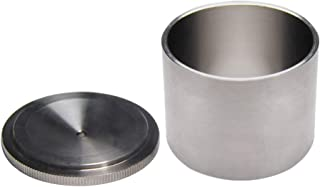 YUCHENGTECH Paint Density Specific Gravity Cup Stainless Steel Paint Density Determiner Pycnometer (50ml)