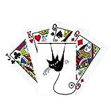 Climb Rail Black Cat Halloween Animal Poker Jugando Magic Card Fun Juego de mesa
