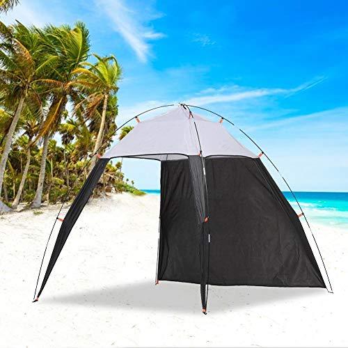rosemaryrose Toldo Camping,Tienda De Techo Camper Furgoneta,Al Aire Libre Canopy Beach Shelter Sun Shade Tent -for Fishing Camping Travel