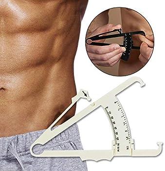 Tripsky Fat Measure Caliper with Body Fat Percentage Measure Charts