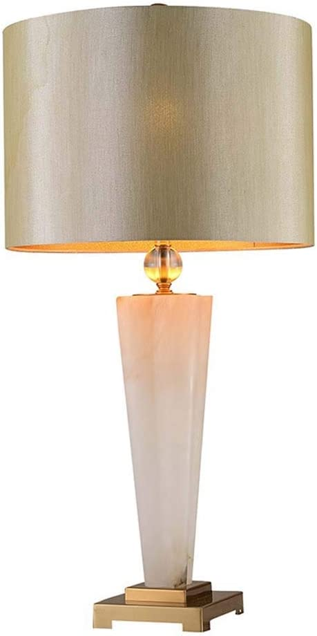 Table Lamps Lamp American 2021 autumn and winter new Fees free Minimalist Creative Tabl Marble Design