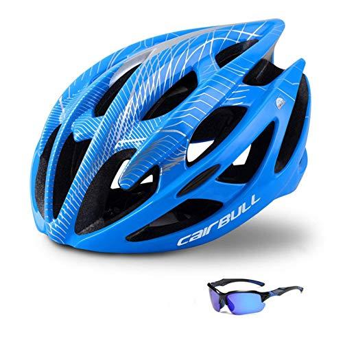 N-B Casco de Ciclismo, Casco de Bicicleta de montaña, Casco Ligero Ajustable (10 Colores)