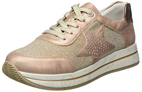 Remonte Damen D2500 Low-top, Pink (Rose/Lightrose/Kupfer), 39 EU