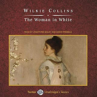 The Woman in White                   By:                                                                                                                                 Wilkie Collins                               Narrated by:                                                                                                                                 Josephine Bailey,                                                                                        Simon Prebble                      Length: 25 hrs and 6 mins     2,117 ratings     Overall 4.2