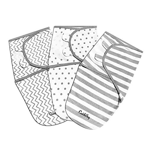 Cuddlebug Adjustable Baby Swaddle Blanket & Wrap (Spots &...