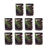 perfk Neopren Bierkühler Dosenkühler Getränkekühle Cup Set Wasserkocher Set Faltbarer...