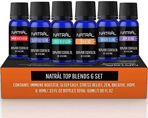 Top 10 Best healing solutions blends essential oil set set of 6 Reviews