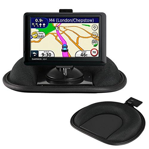 Navitech Dashboard-Friction Mount and Saughalterung mit GPS-Clip kompatibel mit dem den Garmin Nuvi 2457/2457LM/ 2457LMT/ 2497/ 2497LM/ 2497LMT/ 2557/ 2557LM/ 2557LMT/ 2577/ 2577LT/ 2558/ 2558LM/ 2558LMT/ 2558LMTHD/ 42/ 42LM/ 44/ 44LM/ 56/ 56LM/ 56LMT/ 55/ 55LM/ 55LMT/ 52/ 52LM/ 54/ 54LM