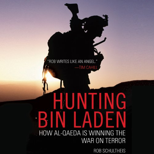 Hunting bin Laden audiobook cover art