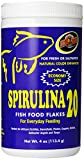 Spirulina flakes are the most popular aquarium food