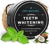 Pasta de dientes blanqueadora de carbón activado – Kit de blanqueador dental...