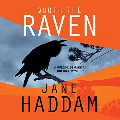 Quoth the Raven audiobook cover art