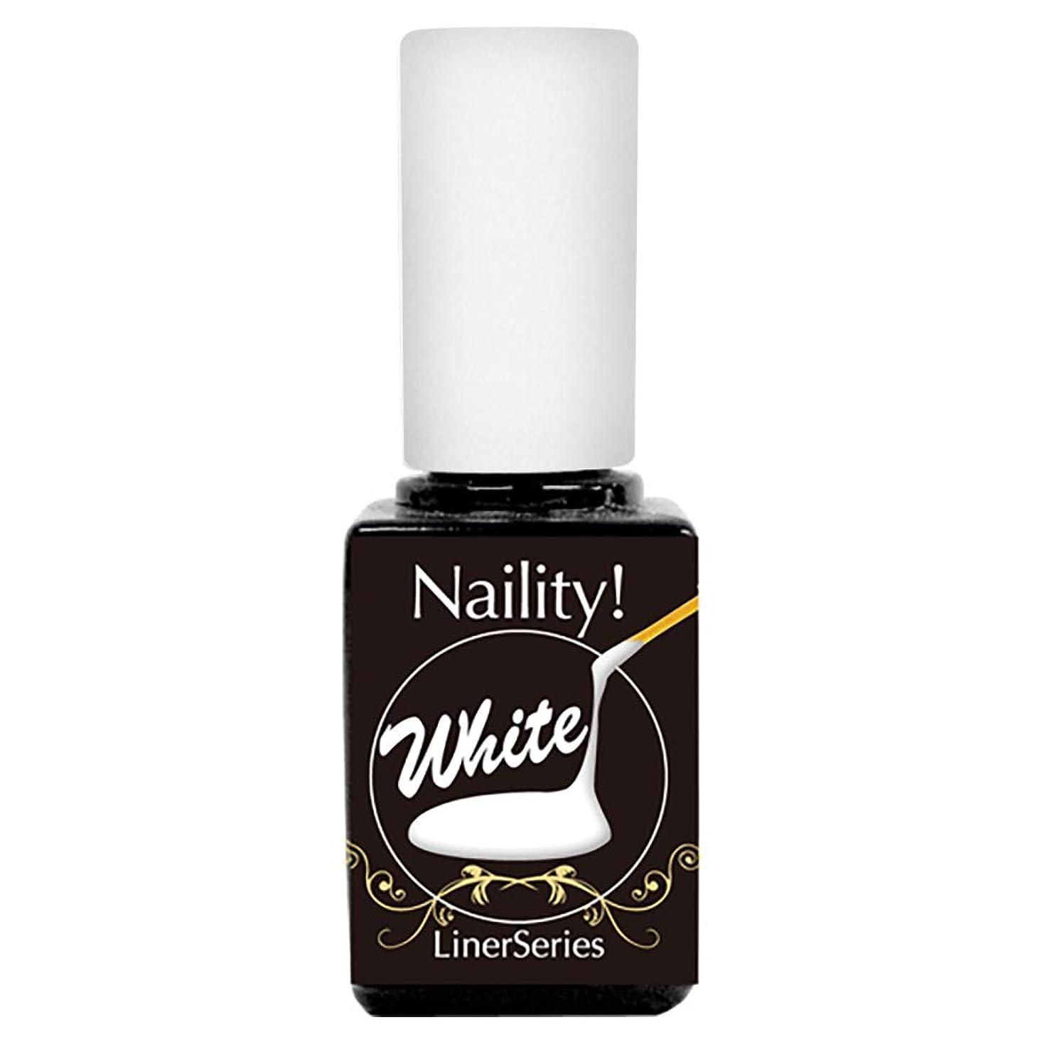 代表してアドバイス神経Naility!ステップレスジェル L10 ライナーホワイト 7g (高粘度)