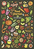 Food Journal and Exercise Tracker: daily notebook, food & activity diary for women - a meal planner, nutrition log diary, and best habit tracker to ... habits (food journals for tracking meals)