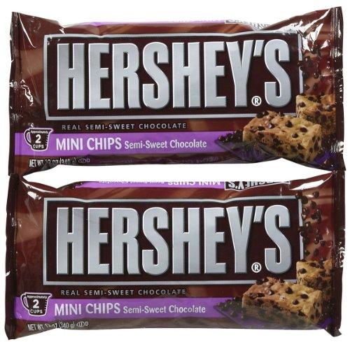 Hershey's Semi-Sweet Mini Baking Chips - 12 oz - 2 pk