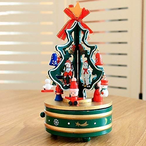 kaige Christmas tree fashion music box christmas decorations WKY