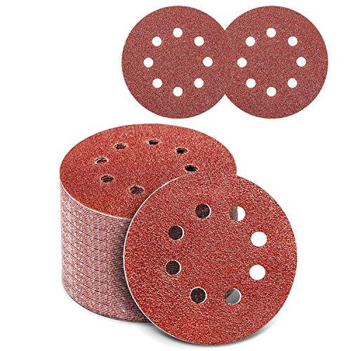 Papel De Lija Con Velcro 125 Mm