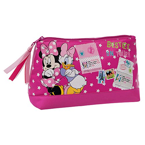 DISNEY Trousse de Toilette Minnie et Daisy Vanity, 22 cm, Rose