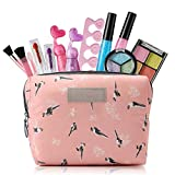 HOUS IDEAS Kids Toys for 3 4 5 6 7 8 Year Old Girls, Kids Makeup Kit for Girl with Cosmetic Bag, Girl Gifts for Age 3-8