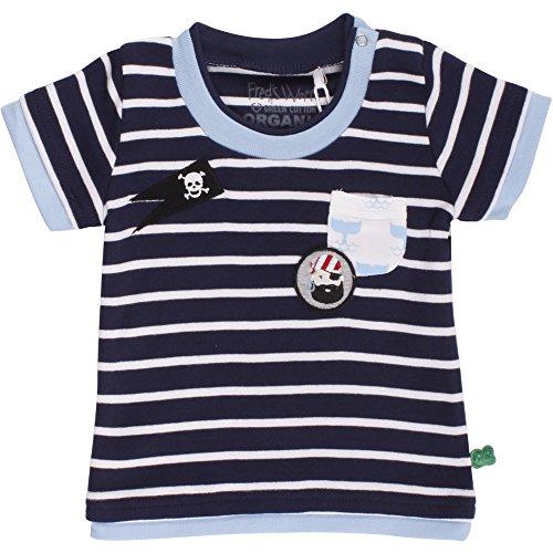 Fred'S World By Green Cotton Sailor Stripe T Baby T-Shirt, Bleu (Navy 019392001), 3 Mois Bébé garçon