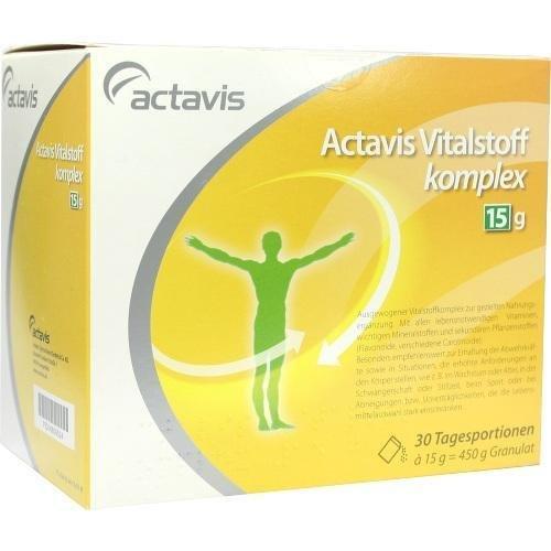 ACTAVIS-VITALSTOFFKOMPL15G 30St Granulat PZN:6809524
