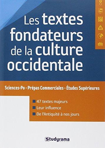 Les Textes Fondateurs De La Culture Occidentale