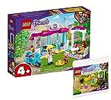 Collectix Lego Set Friends Heartlake City Bäckerei 41440 + Friends 30413 - Carrito para flores (bolsa de plástico)