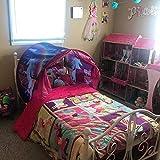 Bettzelt,Einhorn Traumzelt, Drinnen Kinder, Kid's Fantasy, Kinder Schlafzimmer Dekoration,Geschenke für Kinder - 3