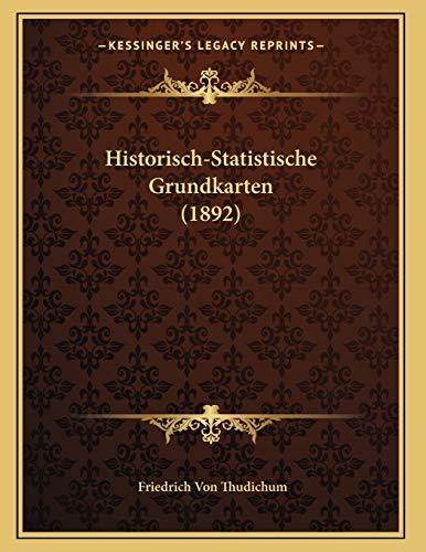 Historisch-Statistische Grundkarten (1892)
