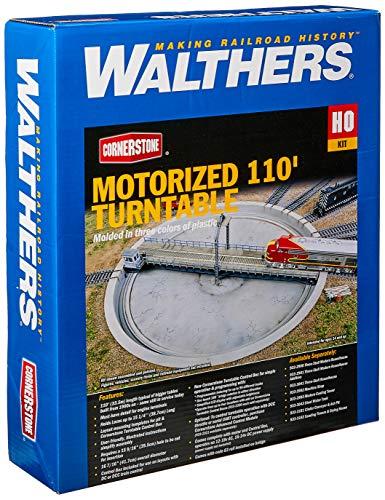Walthers, Inc. Motorized Turntable Assembled Train, 16-7/16u0022 41.7cm