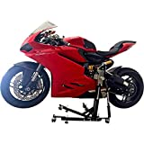 SV Racing Parts for Ducati Panigale 959 Models Black Custom Paddock Style Hydraulic Side Lift Motorcycle Stand