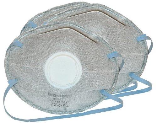 Protezione appannamento fine polvere maschera, Grado di protezione FFP2, 3 Pack