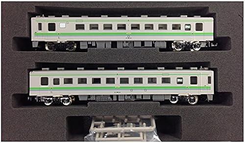 2-Wagen-Zug gesetzt 142 Form alter Farbe Gründ Spur N 4577 JR 141 Kiha Form   Kiha (powerot)