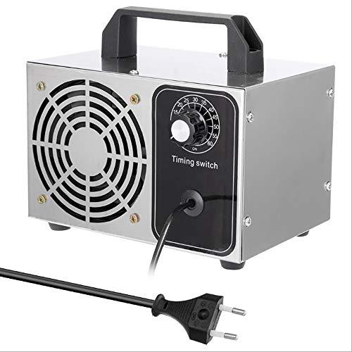 WXH Generador De Ozono Hogar Portátil Purificador De Aire De Salida Esterilizador De Lata 5 G / 10G / 15G De Ozono por Hora, Puede Matar El 99% De Las Bacterias, Adecuado para Coches/Oficinas,