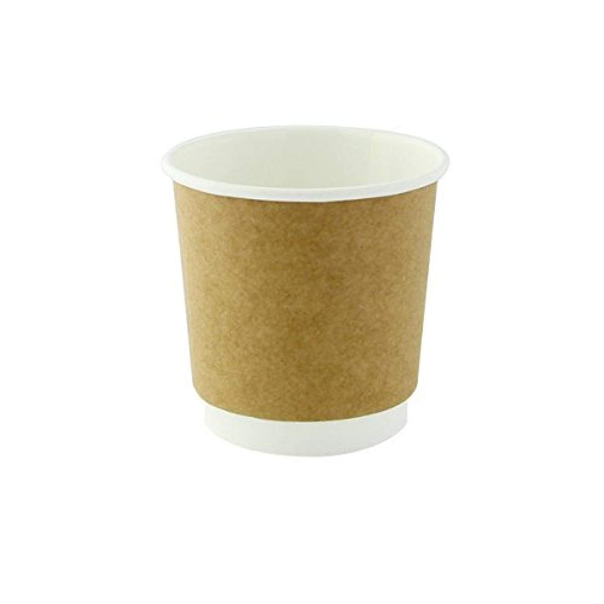 Zen Kraft Paper Cup Case of 1000 - PacknWood Disposable Ranking TOP19 New products world's highest quality popular Brown