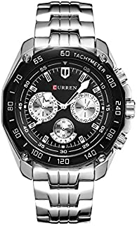 Curren Casual Watch For Men Analog Stainless Steel - 80077