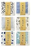 TRANPARAN まごころふきん 台ふきん6柄セット 蚊帳生地 7枚重ね 奈良県産 日本製