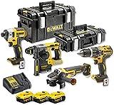 DeWalt DCK422P3-QW - Pack multi-outils électroportatifs + 3 batteries 5.0Ah XR 18V + chargeur multi-voltages