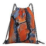 Sac de sport Sac de sport en écorce de pin Sac à dos Sacs de sport Sac de plage pour Yoga Gym Natation Voyage Plage