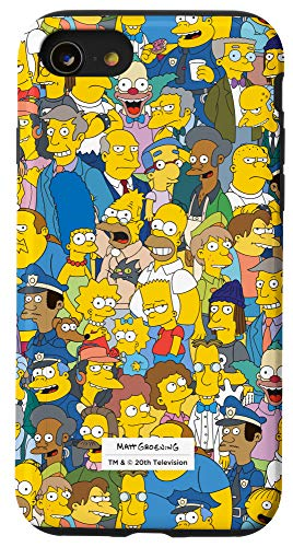 iPhone SE (2020) / 7 / 8 The Simpsons Springfield Characters Print Case