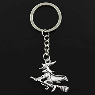 YCEOT sleutelhanger 36 x 34 mm hanger DIY mannen auto sleutelhanger sleutelring sleutelring aandenken sieraden cadeau