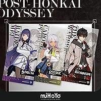 崩壊3rd 後崩壊書シリーズ PVCポスター 主人公芽衣キャロル3人セット