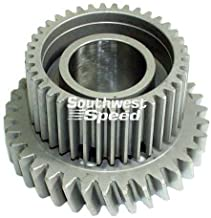 NEW FRONT COUNTER GEAR FOR BERT ALUMINUM AND MAGNESIUM TRANSMISSIONS FOR MODIFIED, LATE MODEL, AND STREET STOCK RACING, 21, TRANNY, IMCA, UMP, USMTS, ETC