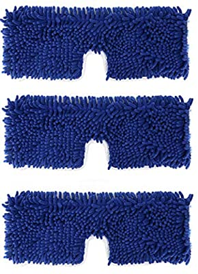 3 Pack Mop Refills Compatible with O-cedar Dual-Action Microfiber Flip Mop, Replacement Mop Heads for Dry/Wet Use, Machine Washable Double Sided All Surface Cleaning