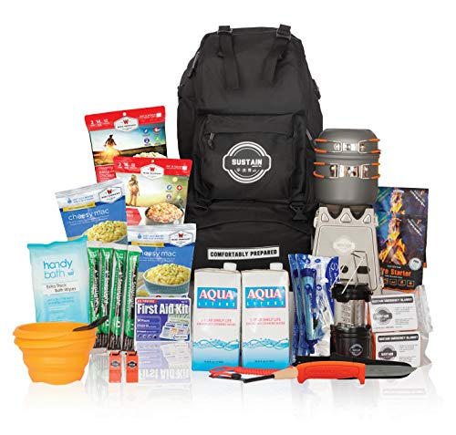 Our #5 Pick is the Sustain Supply Co. Comfort2 Premium Emergency Survival Kit