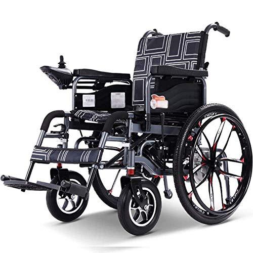 WXDP Autopropulsado Patinete de Movilidad Personal con Silla Inteligente, portátil, Ligero y eléctrico Plegable, Pesa Solo 83 Libras con batería, soporta 264 Libras, Port