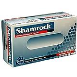 Shamrock 4.5mil Blue Nitrile Industrial Powder Free Gloves, Fully...