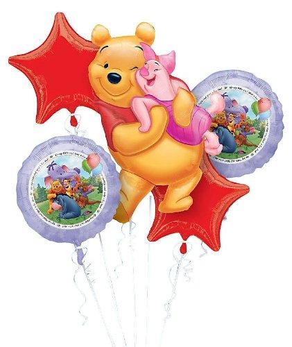 Winnie the Pooh Balloon Bouquet