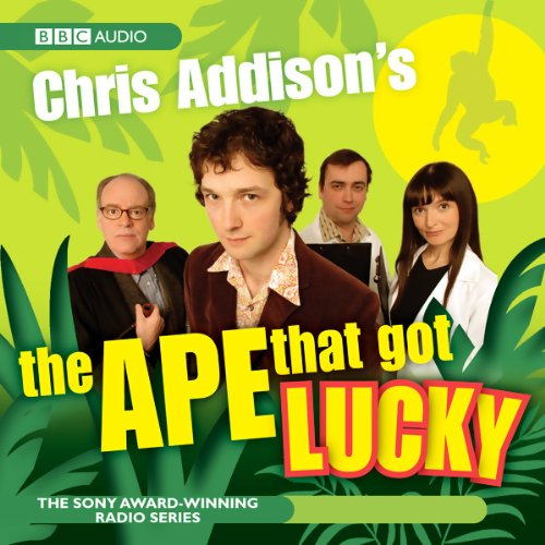 Chris Addison's audiobook cover art